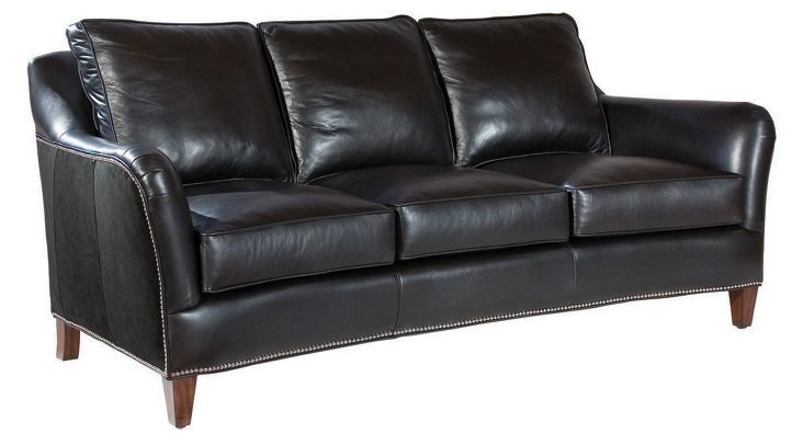 "DNU, DISC Esme 82"" Sofa, Black"