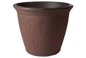 "24"" Abramo Planter, Rust*"