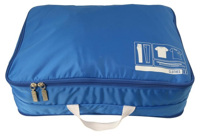 Clothes Spacepak, Blue