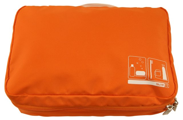 Toiletry Spacepak, Orange