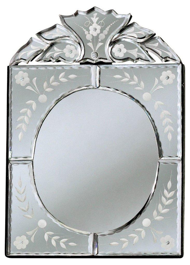 Enna Accent Mirror, Clear