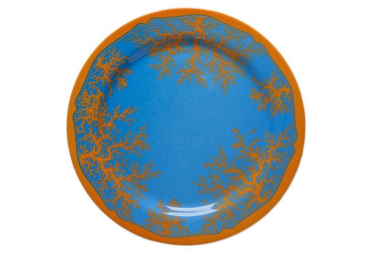 S/4 Wilde Sea Plates, Blue