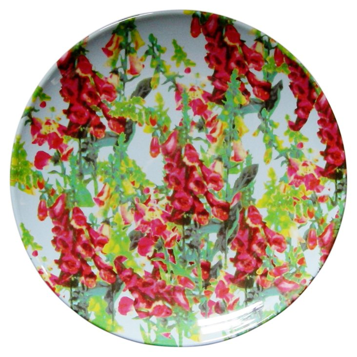 S/4 Flowershow Foxglove Coupe Plates