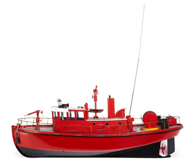 City of Bath Model Tugboat