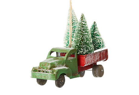 Evergreen Farm Truck, Green