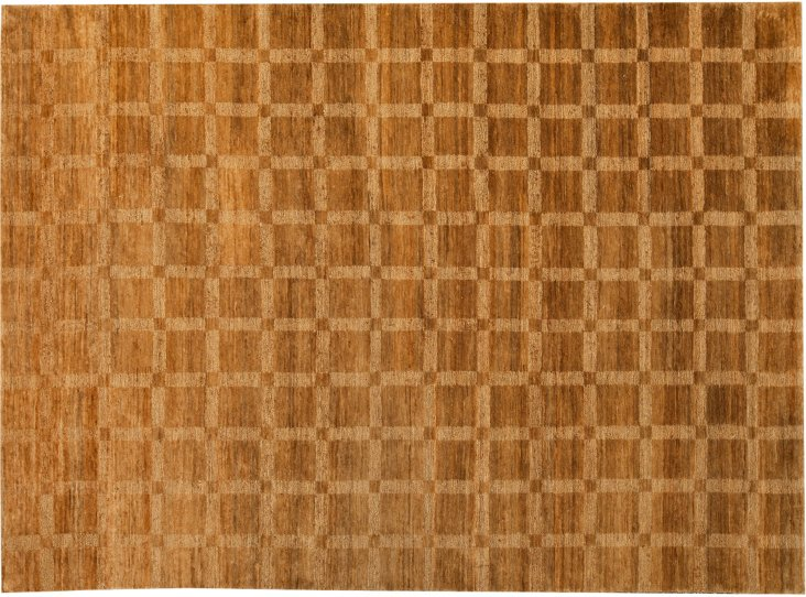 Hand-Knotted Jute Rug, 8' x 11'