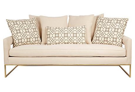 Bevin Sofa, Ivory Linen