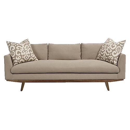 Newell Sofa, Oatmeal Linen