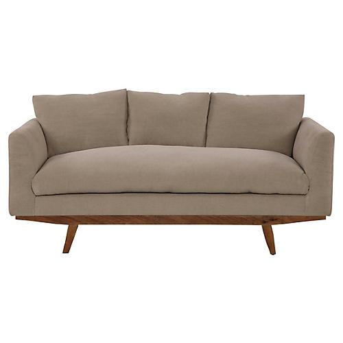 Newell Small Sofa, Oatmeal Linen