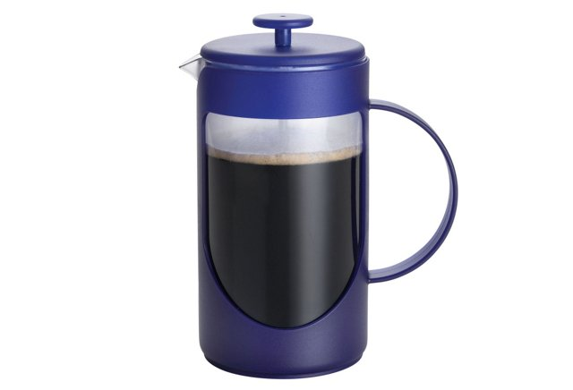 8-Cup Unbreakable French Press, Blue