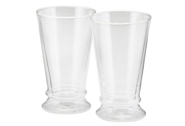 S/2 Insulated Latte Cups