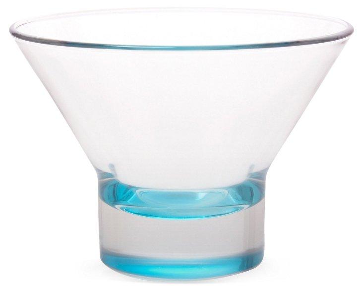 S/4 Ypsilon Dessert Cups, Sky Blue