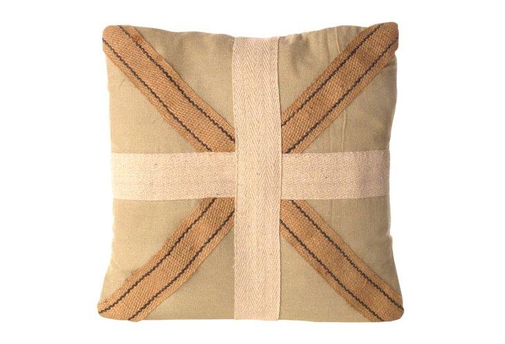 Cross Canvas Pillow