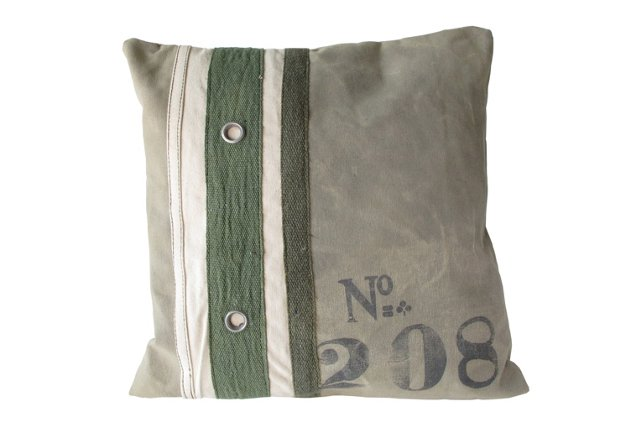 16x16 Sage Canvas Pillow