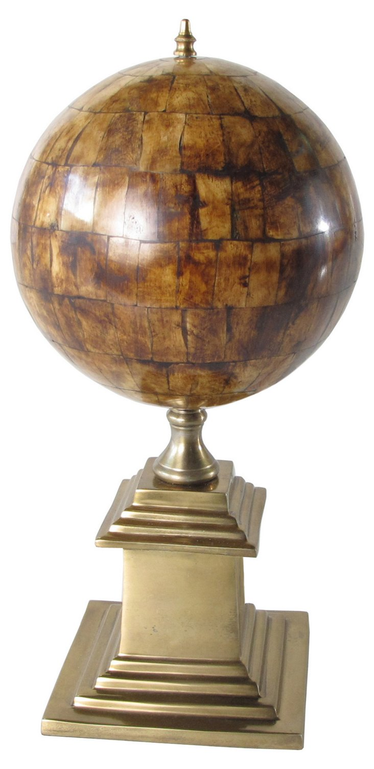 "17"" Aviator Sphere, Gold"