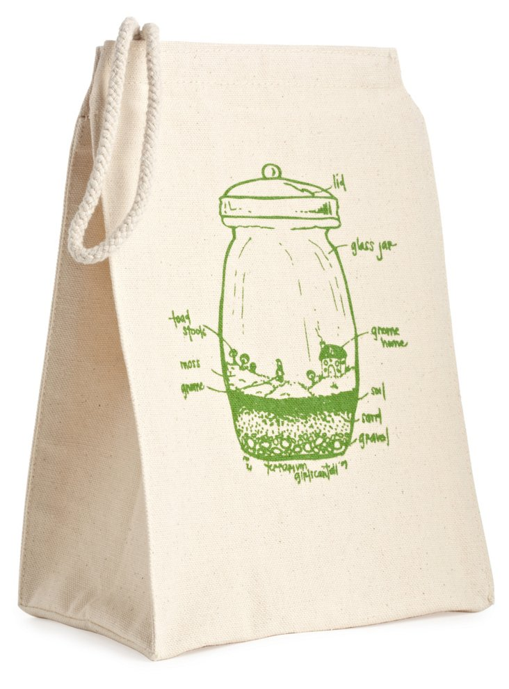 Recycled-Cotton Bag, Terrarium
