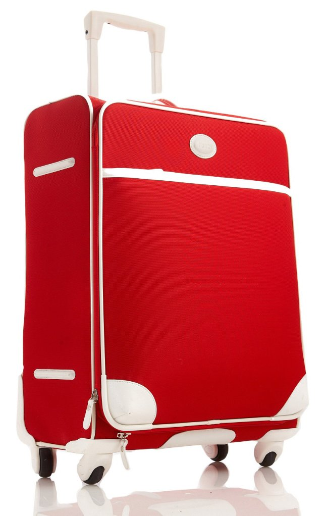 """25"""" Spinner Trolley, Red"""