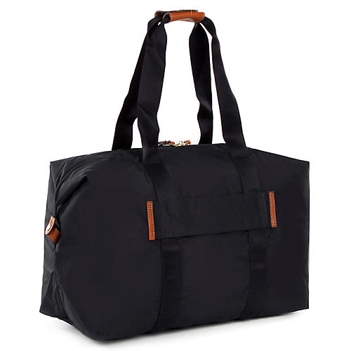 "21"" X-Bag Folding Duffel, Black"