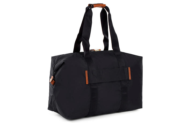 X-Bag Folding Duffel - Black - Brics