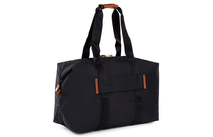 X-Bag Folding Duffel - Black - Brics