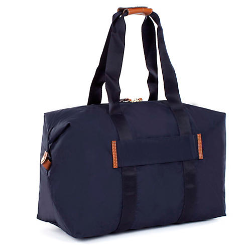 "18"" X-Bag Folding Duffel, Navy"