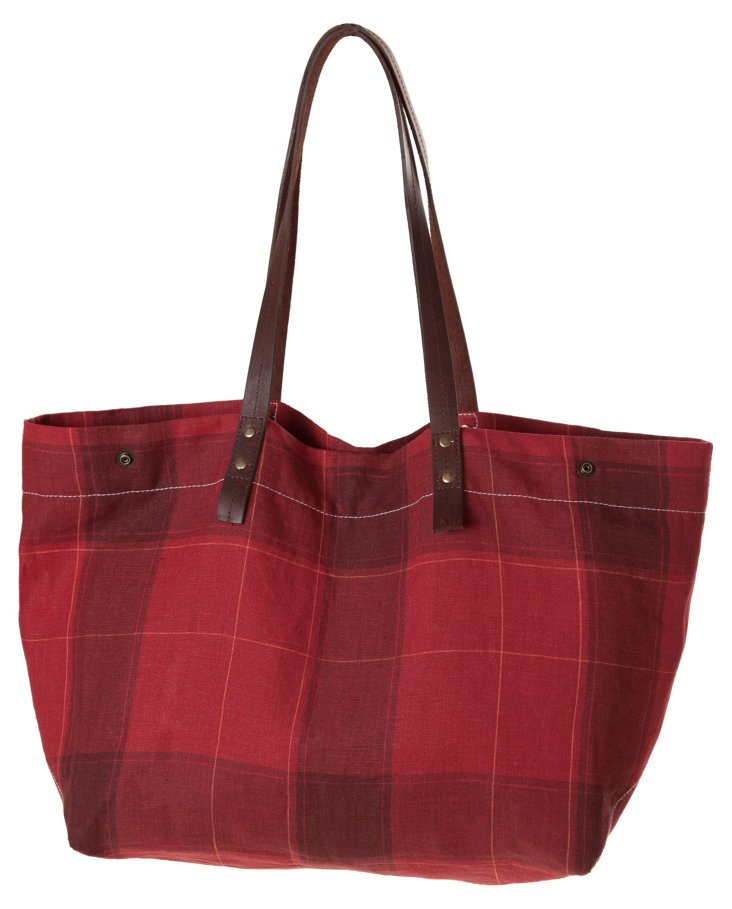 Campbell Tote, Red