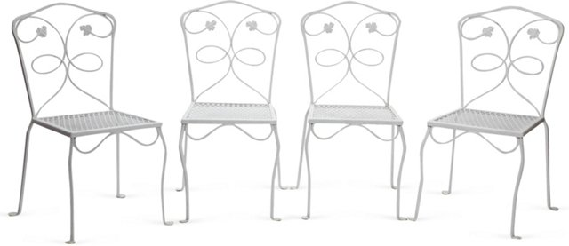 Salterini-Style Side Chairs, Set of 4