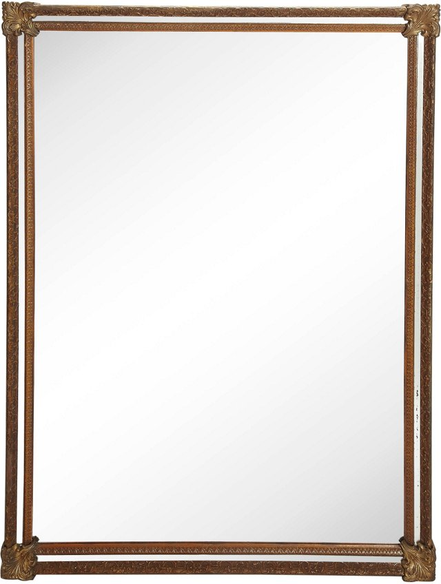 Neoclassical-Style Mantel Mirror