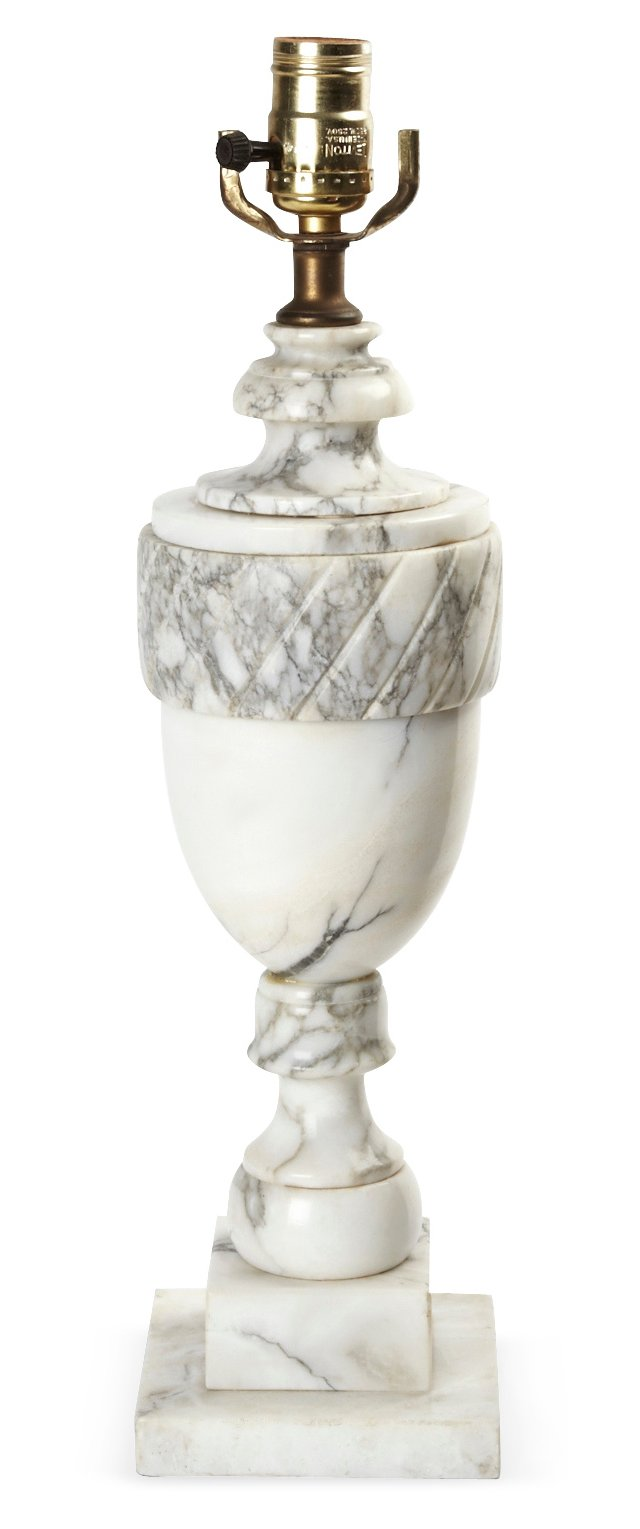 Marble Finial Lamp I