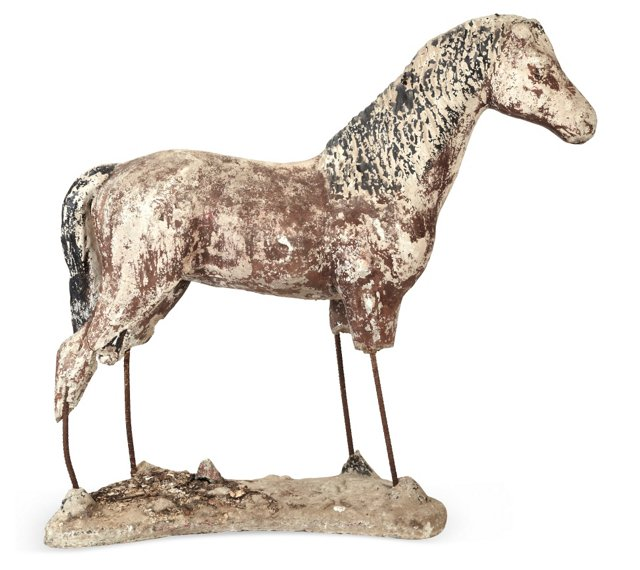 Cast Cement & Iron Horse