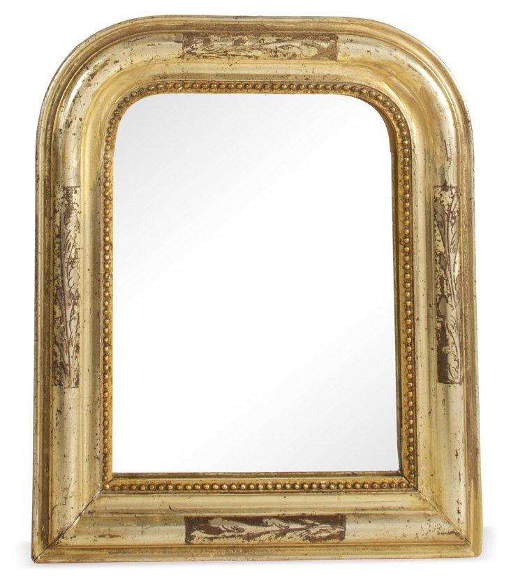 Small Louis Philippe-Period Mirror