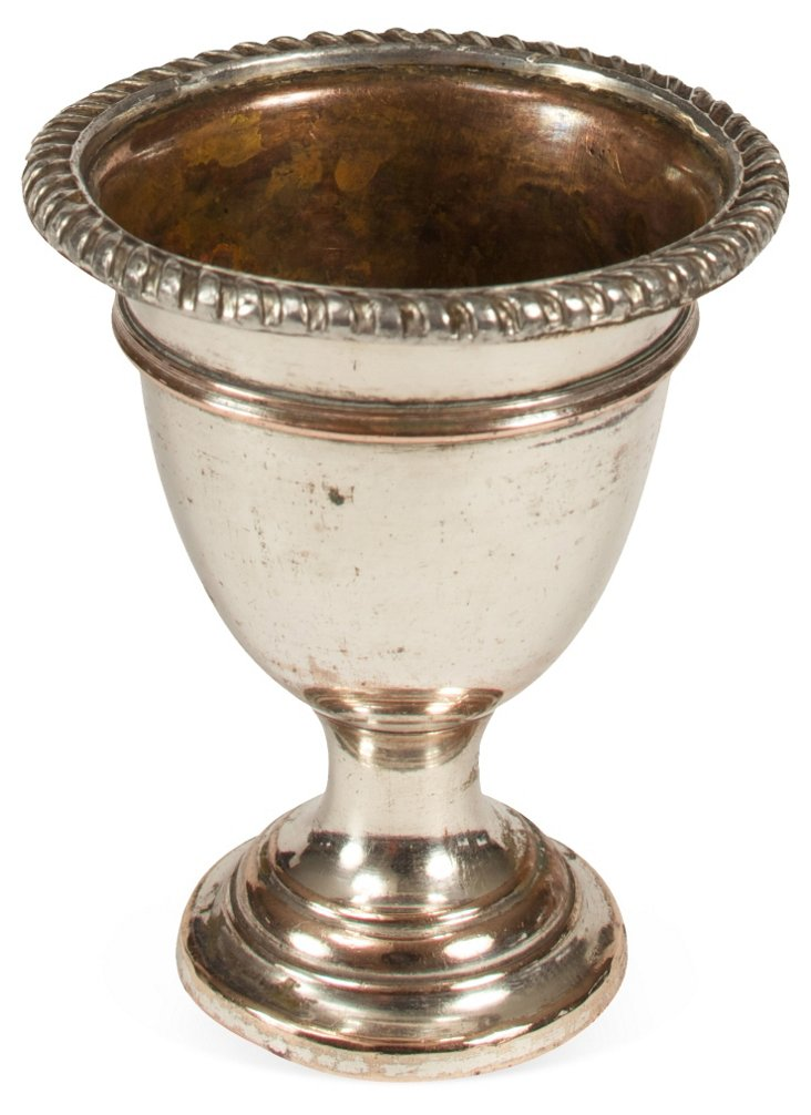 Antique Silverplate Egg Cup