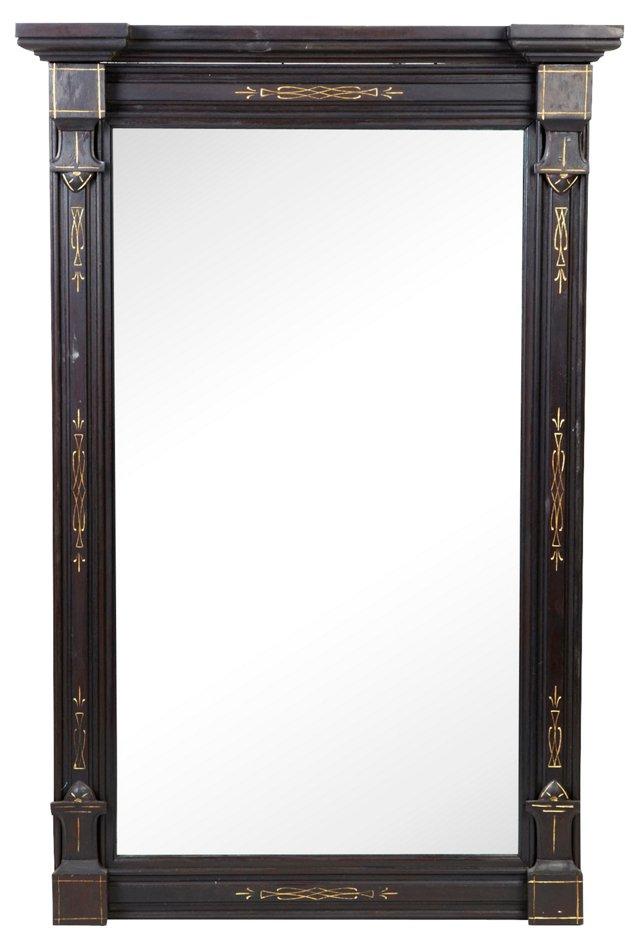 Black Renaissance-Style Mirror