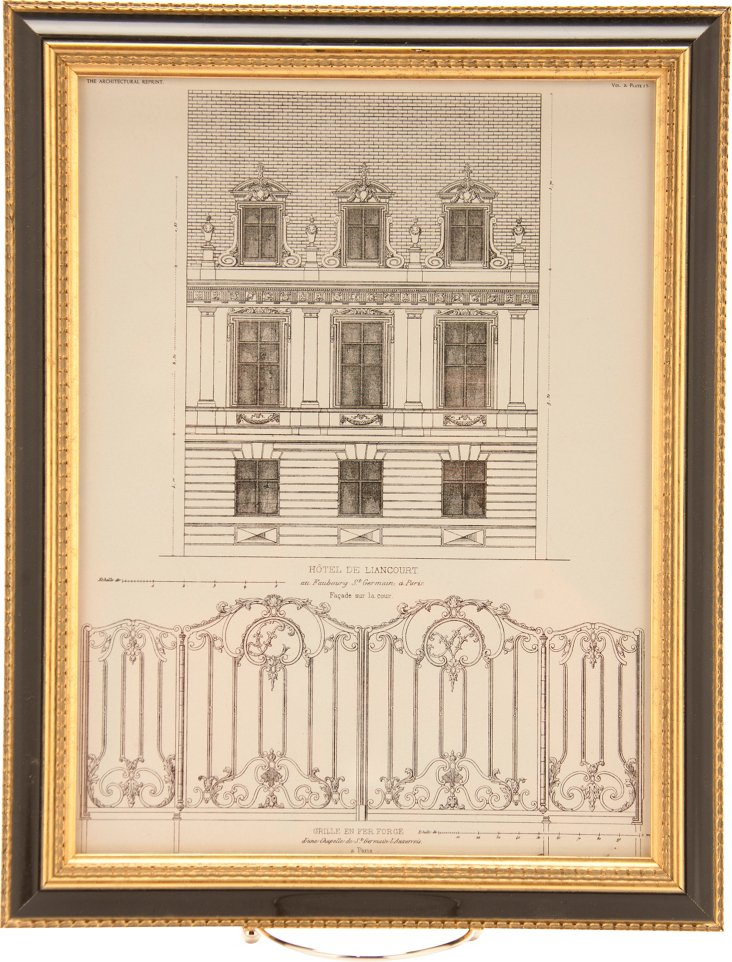 Architectural Engraving IV