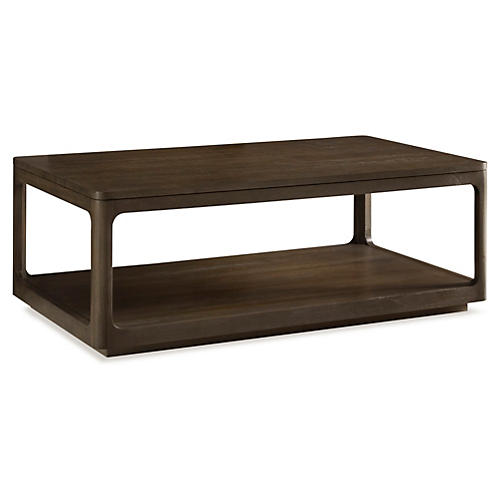 "Messina 50"" Coffee Table, Brown"
