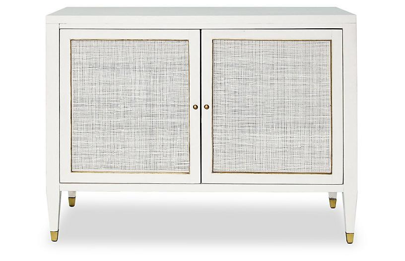 Atherton Bar Cabinet, White