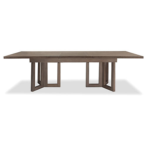 """Alfie 80"""" Ext. Dining Table, Driftwood"""