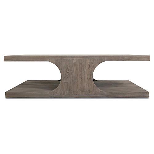 Alfie Coffee Table, Driftwood