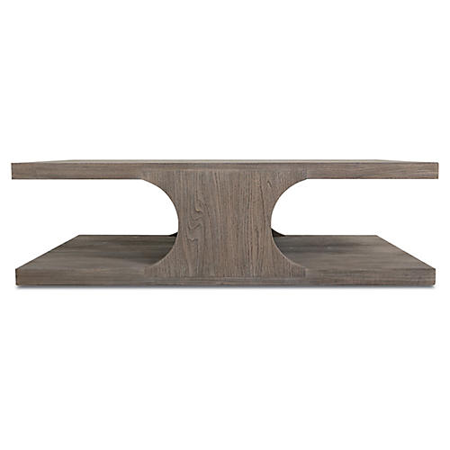 Alfie Coffee Table, Driftwood