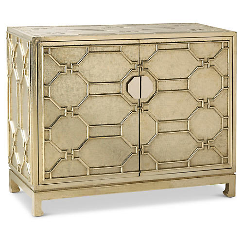 Baxter Cabinet, German Silver