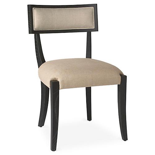 Alexander Side Chair, Onyx