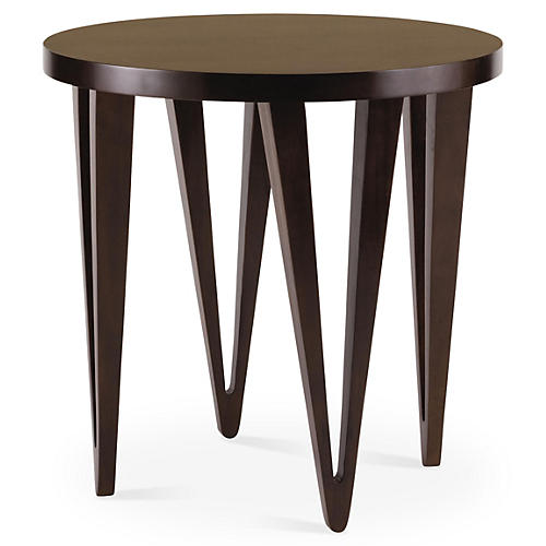 Yale Side Table, Chestnut