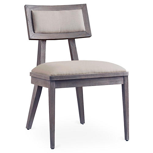 Adeline Side Chair, Driftwood