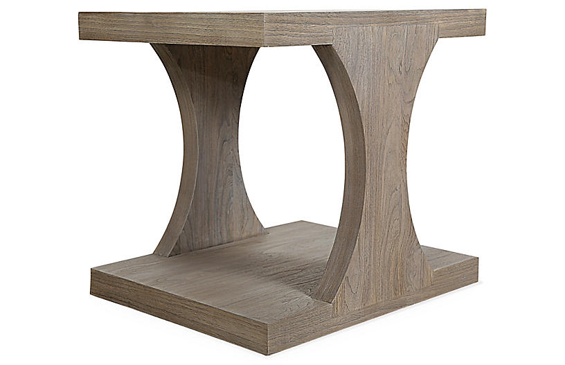 Palmer Side Table, Driftwood