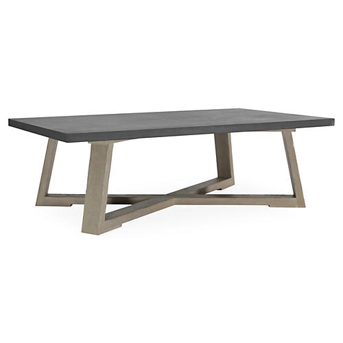 Finlay Coffee Table, Driftwood