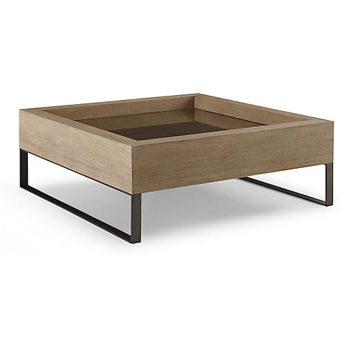 Tiburon Coffee Table, Teak