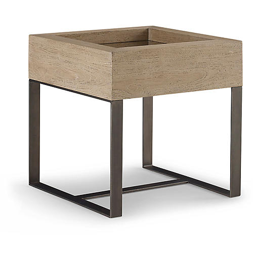 Tiburon Side Table, Teak