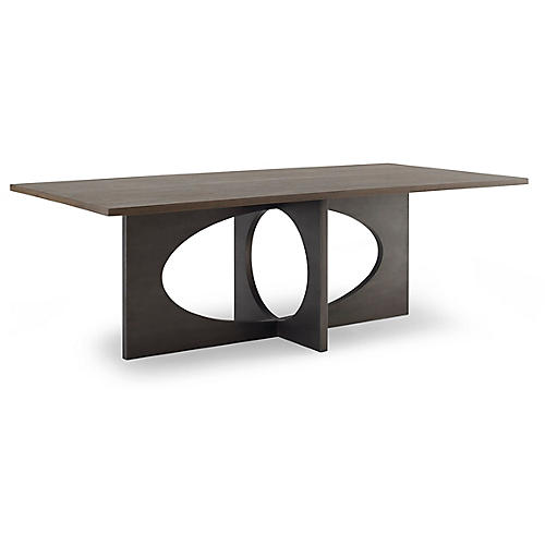 Holden Rectangle Dining Table, Latte