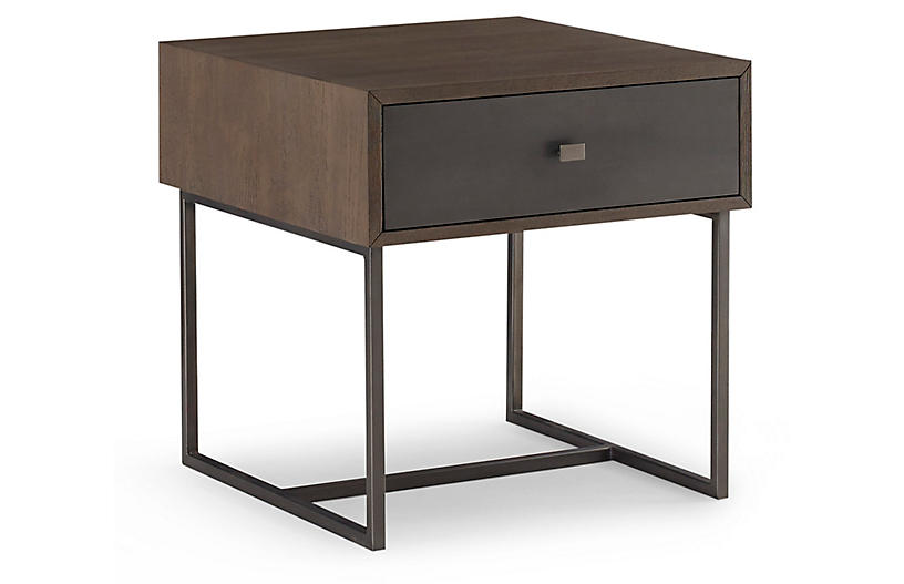 Spencer Nightstand, Latte