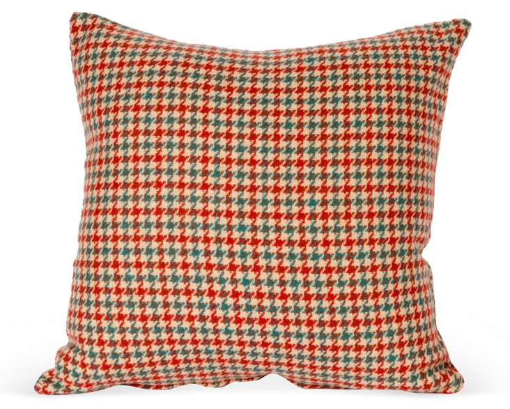Wool Houndstooth Pillow Cover II
